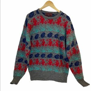 VTG Ralph Lauren Chaps Kid Core 100% Wool sweater